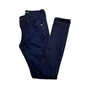 Express Super Soft Mid Rise Skinny Jean Leggings